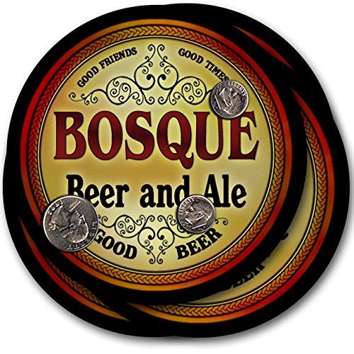 Bosqueビール& Ale – 4パックドリンクコースター   B003QX8GT0