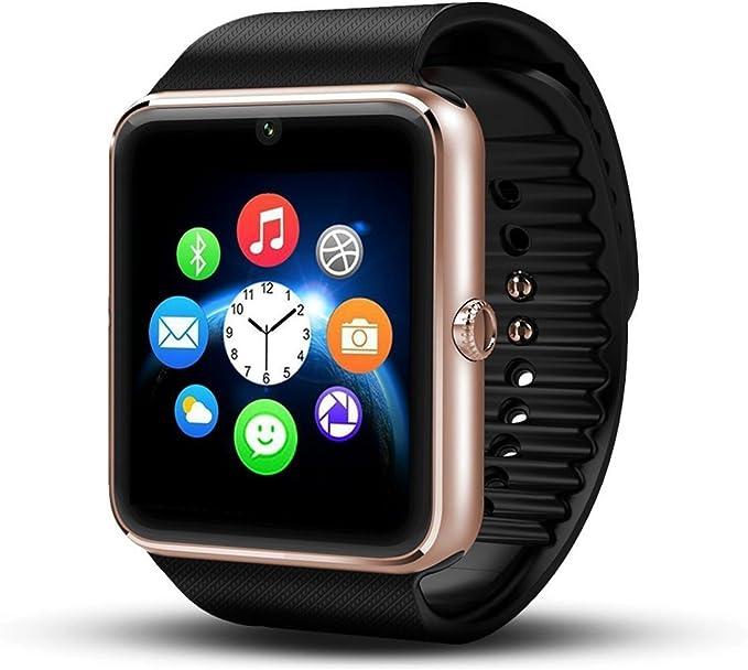 Smartwatch Android Wear, deyoun® Funda de Reloj Bluetooth Smart ...