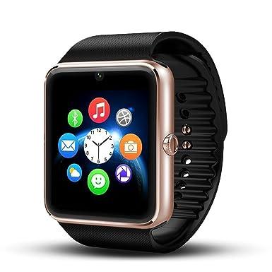 Smartwatch Android Wear, deyoun® Funda de Reloj Bluetooth ...