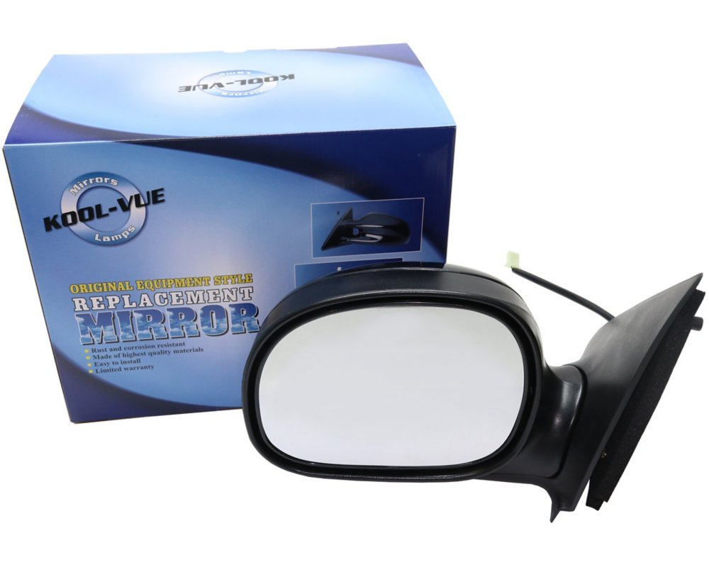 Kool Vue FD40EL Ford F-Series Extended/Standard Cab Driver Side Mirror, Paint to Match Kool-Vue