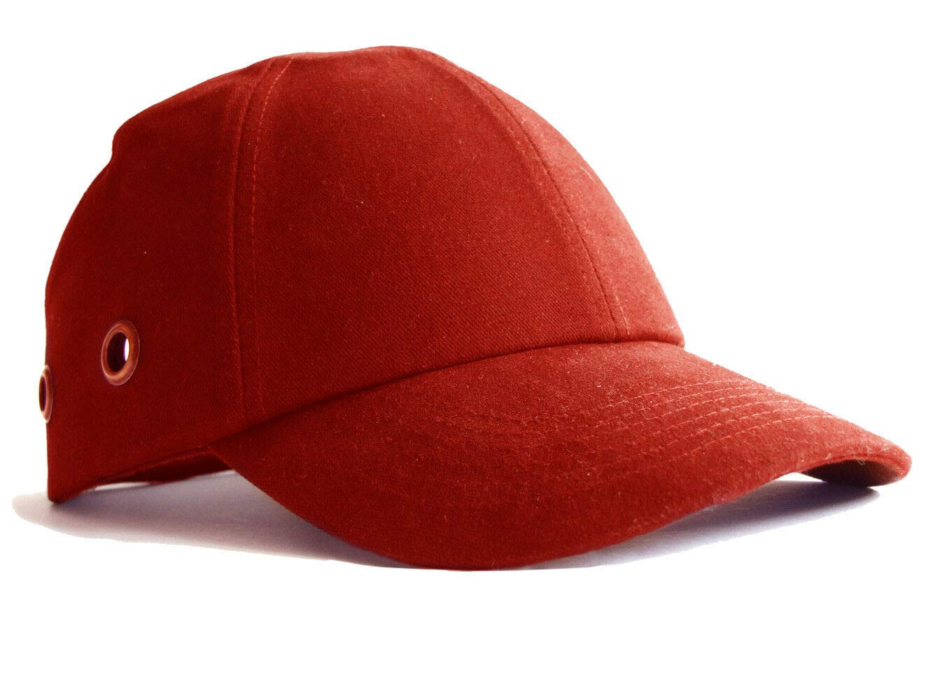 Navy Safety Baseball Cap Hard Hat Bump Cap Vented Velcro Fastening Adjustable