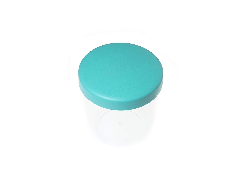 t/ürkis MAMACUP MCSTDTRK01 spill-proof snack cup Auslaufsicherer Becher f/ür zuhause und unterwegs