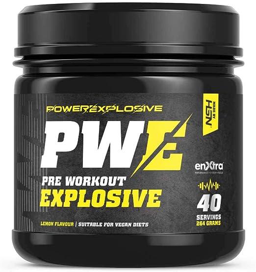 Pre-Entreno Potente Ultra Concentrado PWE Pre Workout de HSN ...