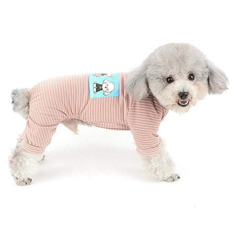 donde puedo comprar Reino Unido seleccione para el último SELMAI Pijama a Rayas Perros pequeños, de algodón, para ...