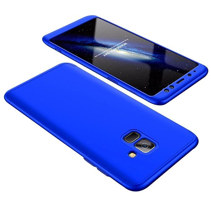 Beryerbi Funda Samsung Galaxy A8 Plus Teléfono Caso 3 en 1 ...