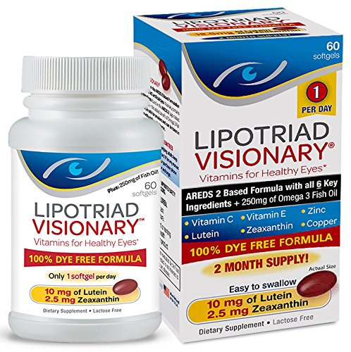 Lipotriad Visionary Vitamin Mineral Supplement product image
