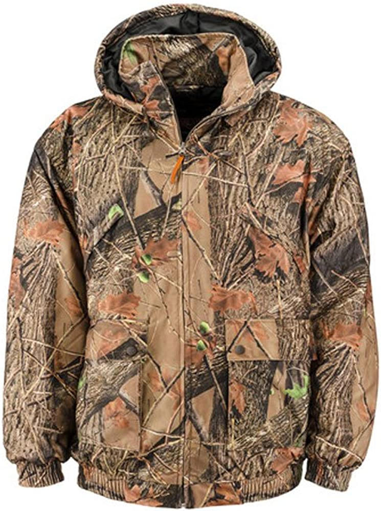 Small TRAIL CREST Boys Evolton Insulated Tanker Jacket Highland Forest