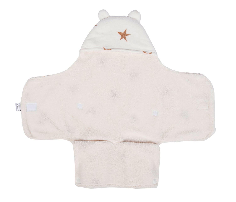 Manta de bebé para dormir, gruesa manta de forro polar con ...