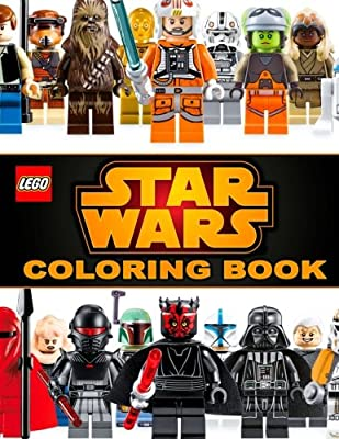 LEGO STAR WARS Coloring Book: Great Activity Book for Fans of LEGO and STAR WARS