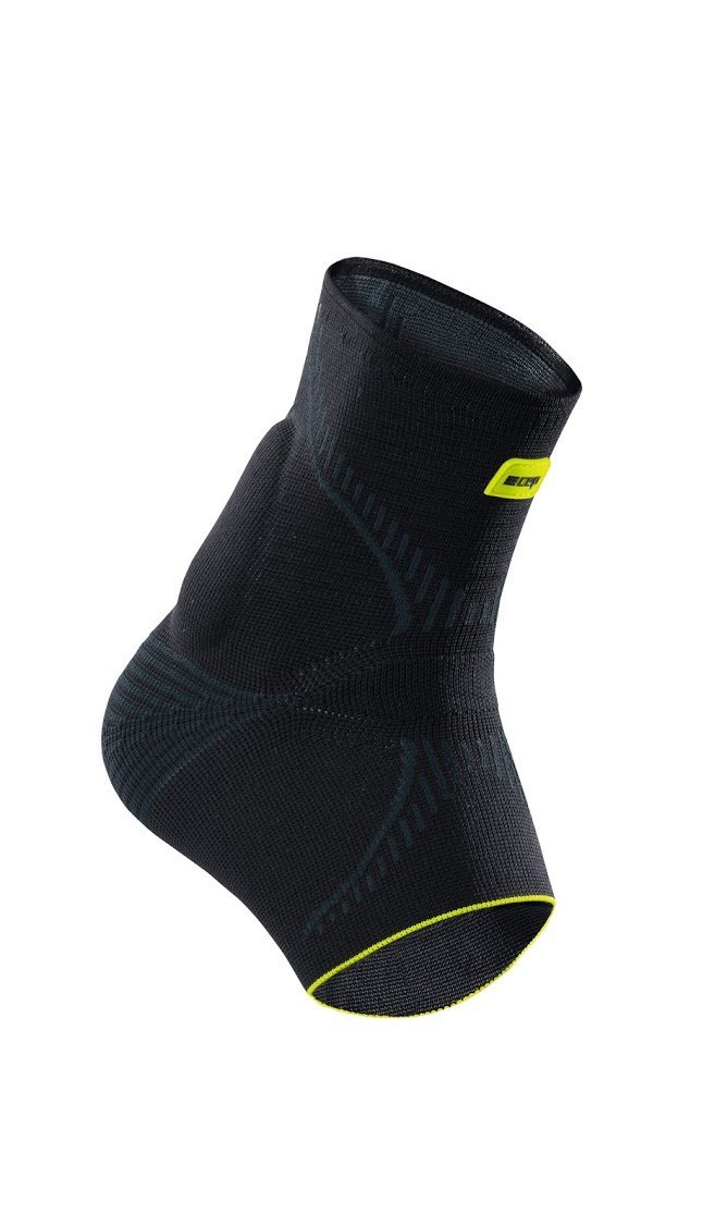 CEP Ortho+ Achilles Brace, Black/Green, Unisex, Size 1 by CEP