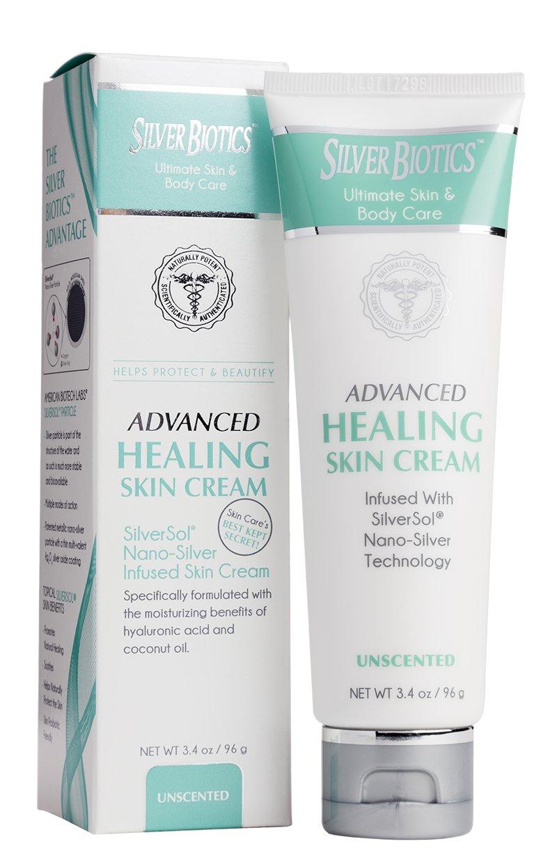 American Biotech Labs Silver Biotics Advanced Healing Skin Cream 3.4oz