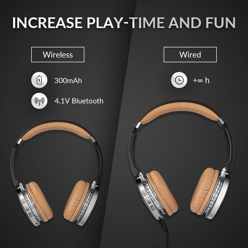 Amazon.com: siroflo V4 Wireless and Wired Bluetooth ...