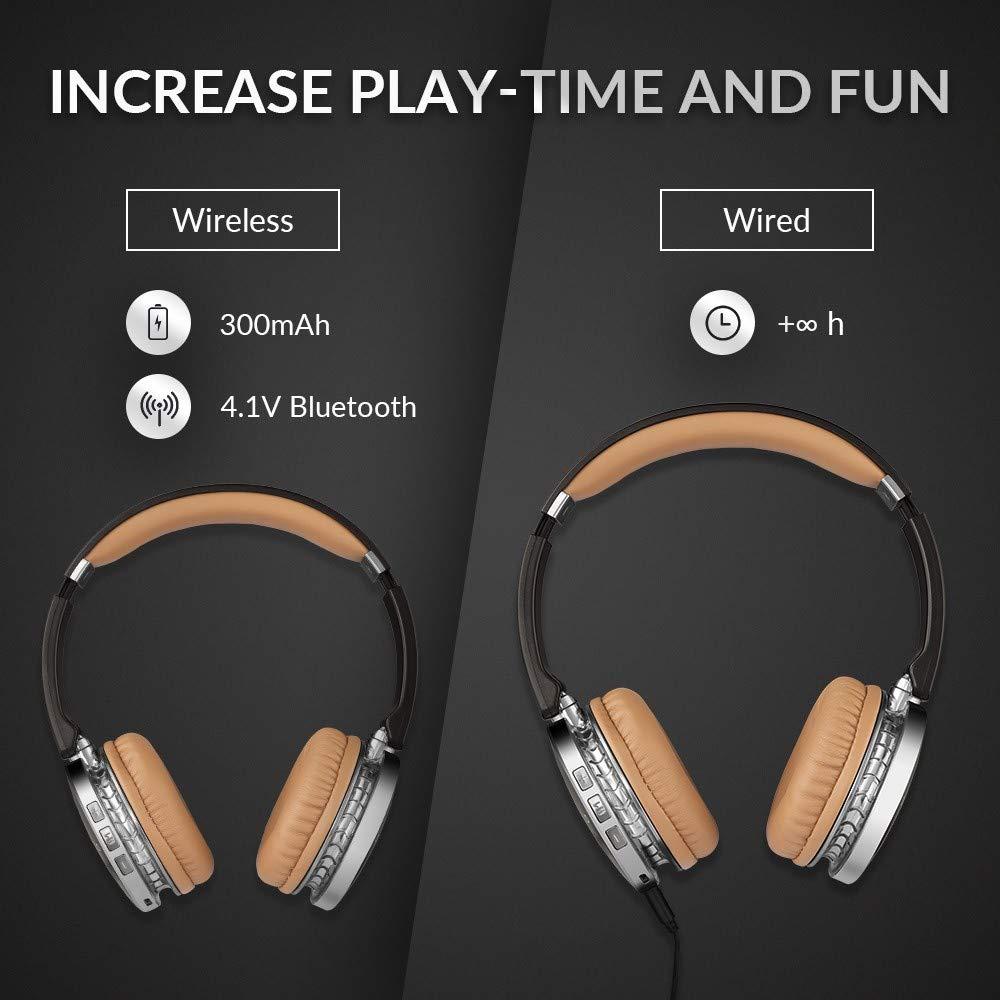 Amazon.com: siroflo V4 Wireless and Wired Bluetooth ...
