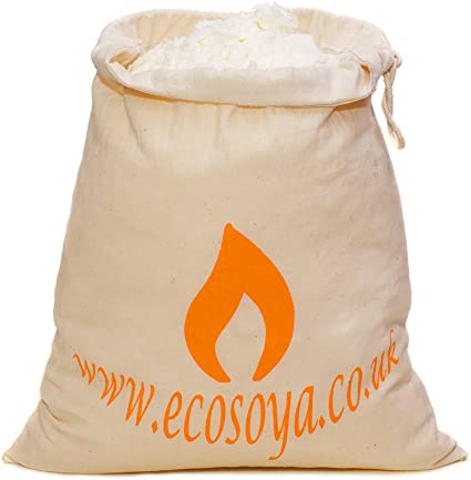1KG Copos de cera de soja natural Vela haciendo cera de soja 100/% puro Contenedor Mezcla Uk