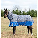 Weatherbeeta Comfitec Premier Free Detach-A-Neck Medium Grey Plaid 78''