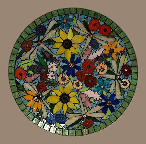 Dragonfly Garden Platter