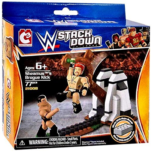 Sheamus's Brogue Kick WWE Stack Down 77 Piece Set by Stack Down