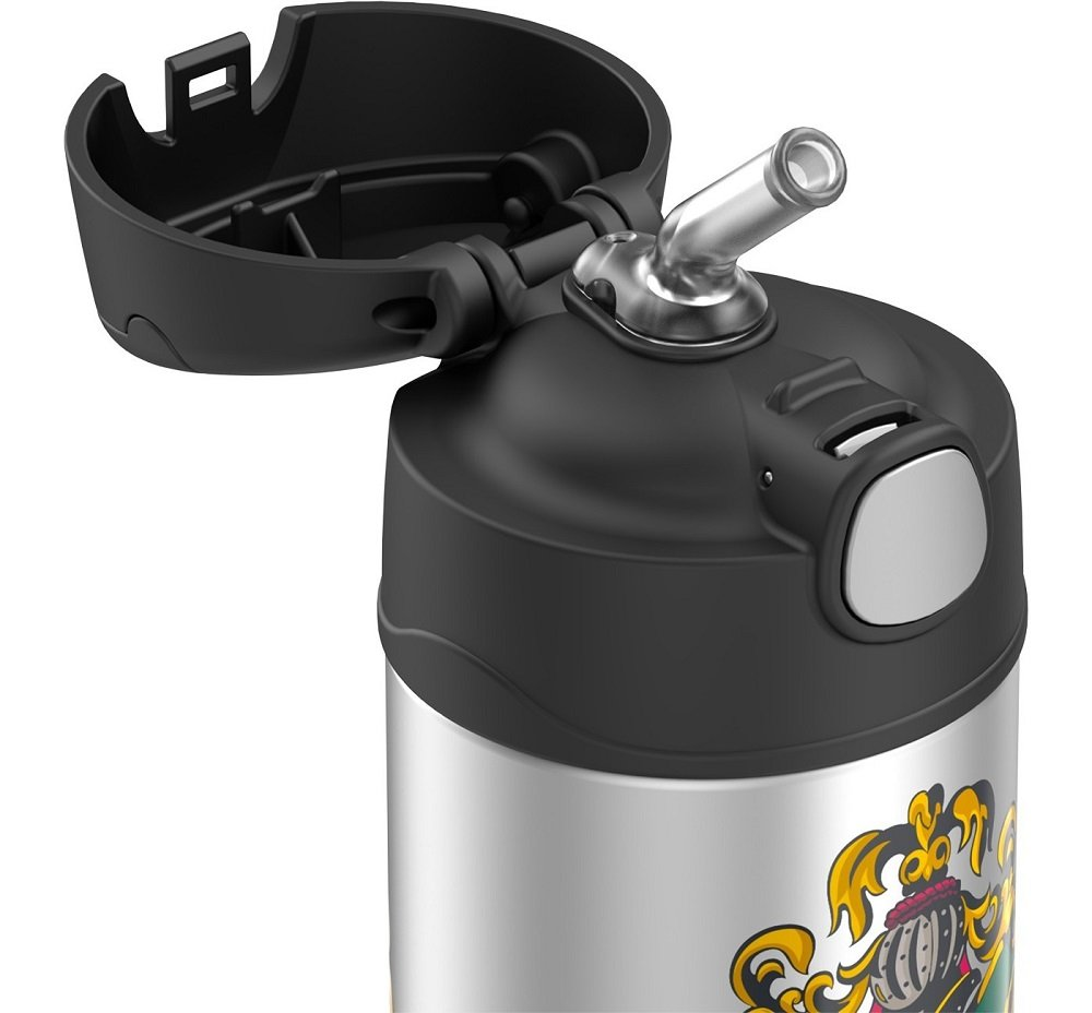 Thermos Harry Potter 12 oz Funtainer Water Bottle Black