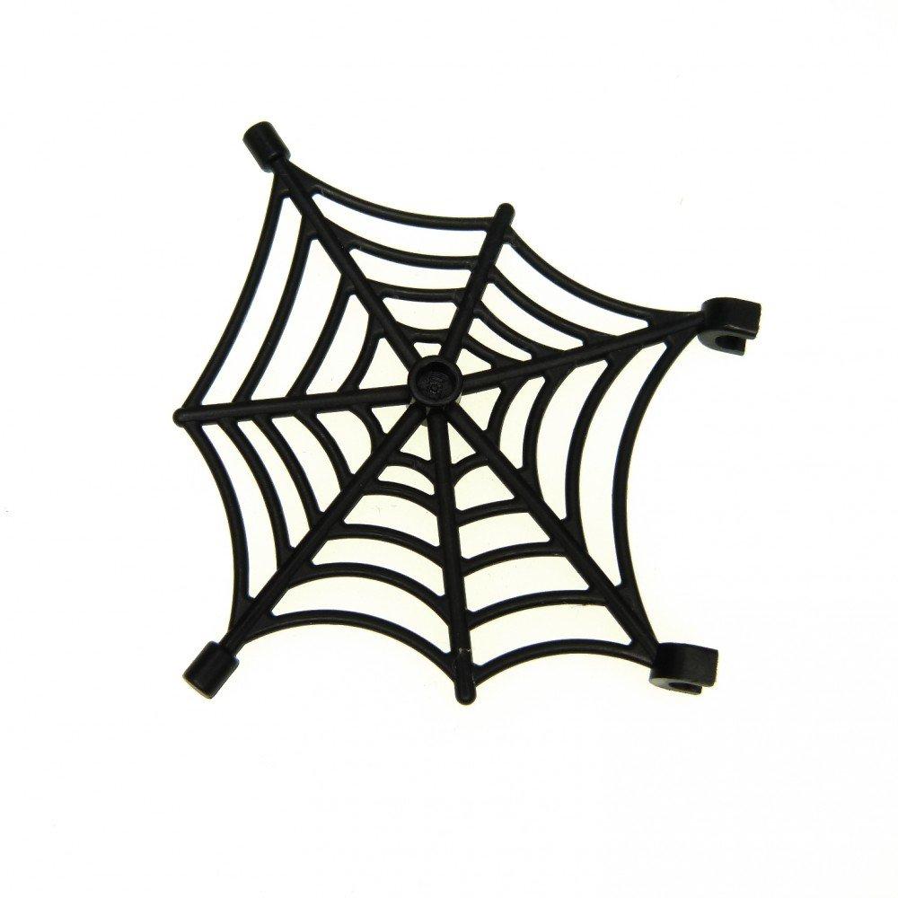1 x Lego System Spinnen Netz schwarz Spider Web 4 juniors Piraten 7074 30240