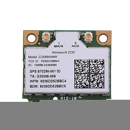 Wendry Tarjeta Intel Wireless PCI-E, Tarjeta Bluetooth WiFi ...