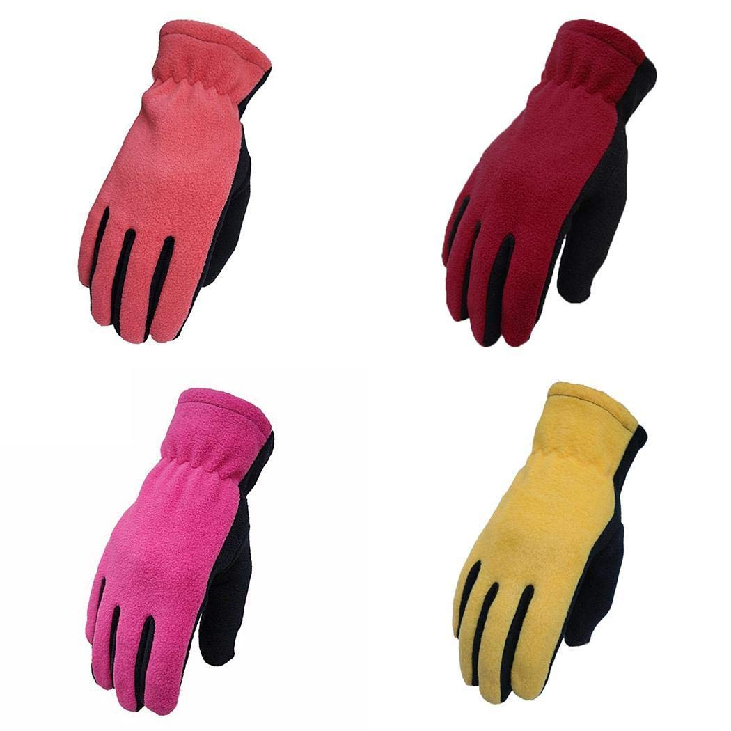 IPENNY Womens Mens Winter Touch Screen Gloves Windproof Waterproof Thermal Gloves Smartphone Texting Hand Warmers Cycling Running