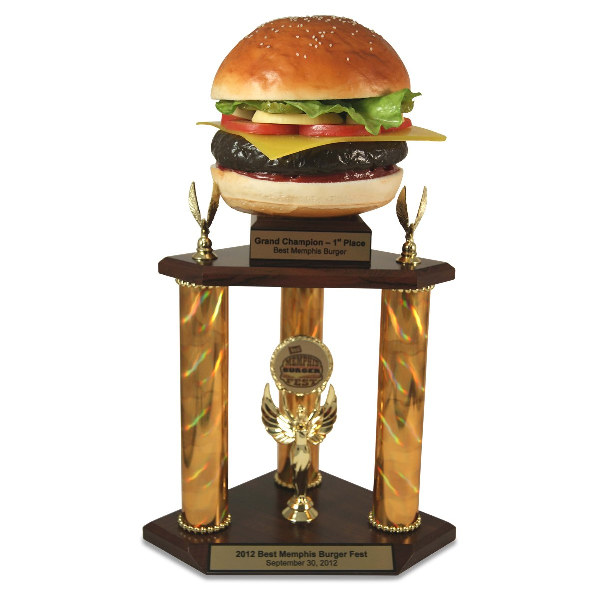 GiantバーガーTrophy – BestバーガーTrophy、ハンバーガーAwards Far、Cheeseburger Eating Contestトロフィー、Cheeseburger Out CookオフTrophy by by Far Out Awards B07BV788GM, 天天ストア:9b3b7afb --- acee.org.ar