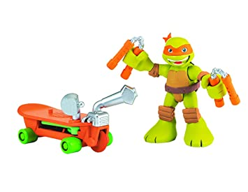 Turtles - Figura articulada Tortugas Ninja Héroes (96103 ...