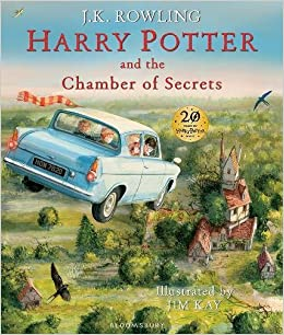 Resultado de imagen de harry potter and the chamber of secrets illustrated edition