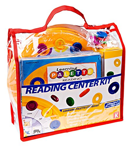 (Learning Wrap-Ups Self Correcting Kindergarten Reading Palette Base Kit)