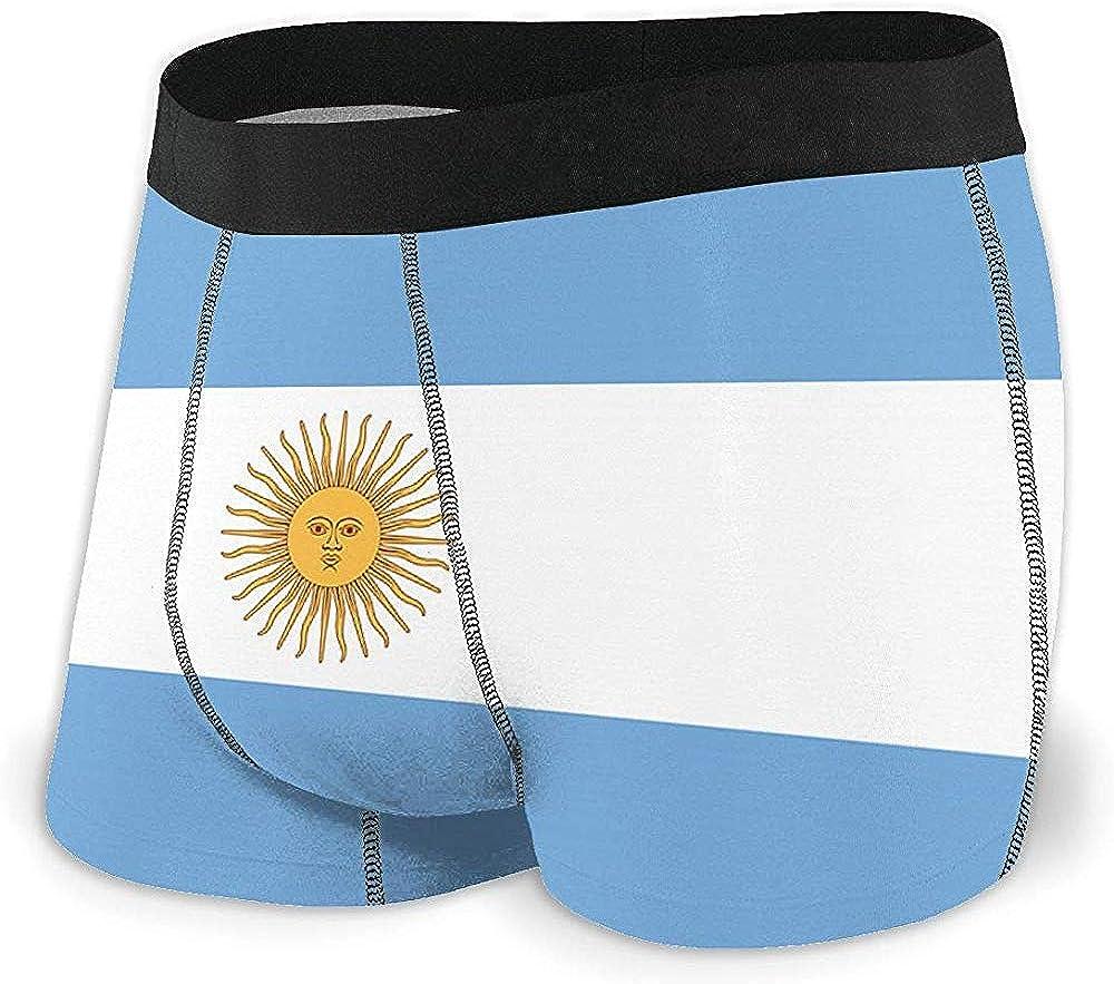 Calzoncillos bóxer para Hombre Ropa Interior cómoda de Bandera Argentina para Hombres: Amazon.es: Ropa y accesorios