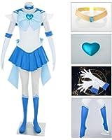 Dazcos Sailor Moon SuperS Mercury Mizuno Ami Battle Cosplay Costume Dress