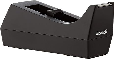Scotch Desk Tape Dispenser 1in Core Black