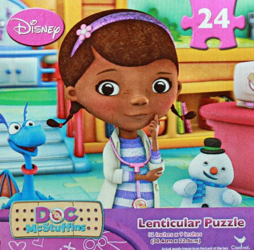 Disney Doc McStuffins 24 Piece Lenticular Puzzle