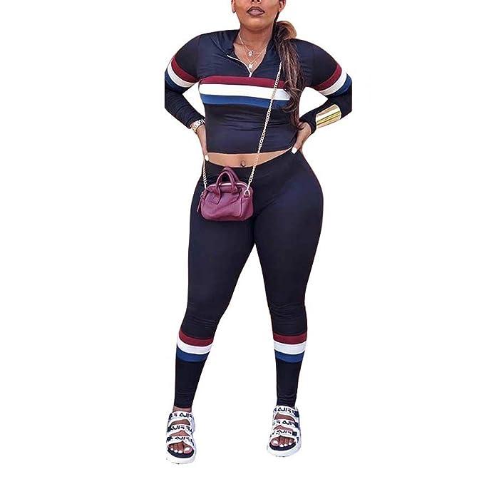 Amazon.com: Traje sexy de 2 piezas para mujer, traje de ...