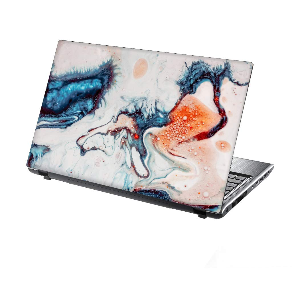 TaylorHe 13-14 inch Laptop Skin Vinyl Decal with Colorful Patterns and Leather Effect Laminate MADE IN BRITAIN Universe Stars