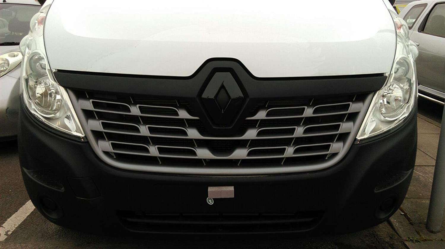 2014 Effet Carbone Badge Housses Avant - Bleu Diamond Performance Renault Master