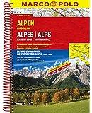 MARCO POLO Reiseatlas Alpen, Norditalien 1:300.000 (MARCO POLO Reiseatlanten)