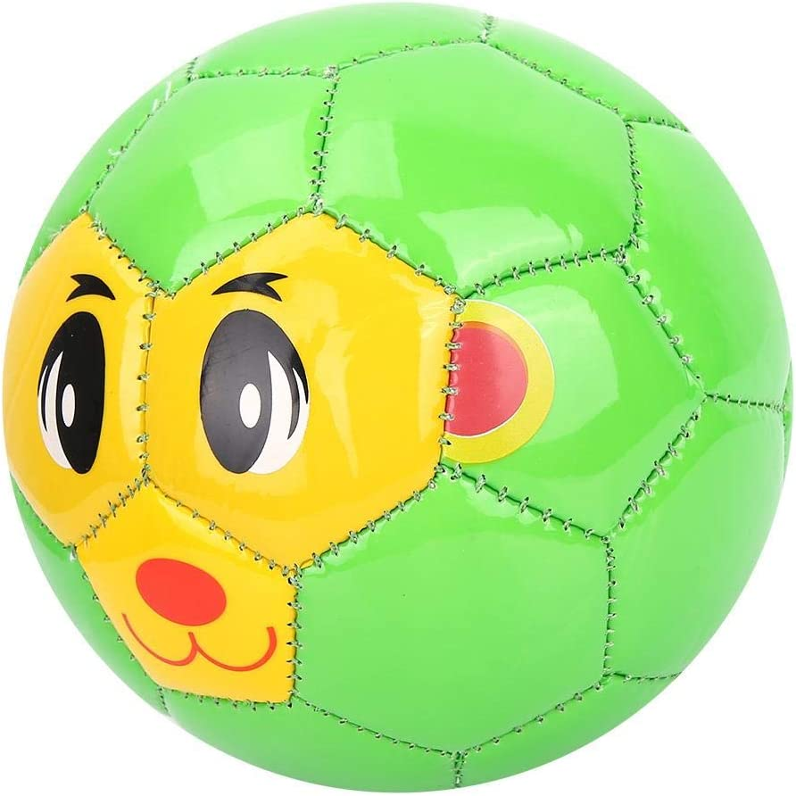 Jimfoty Balón de fútbol Verde, Juguete Ligero para niños, para niños pequeños para bebés