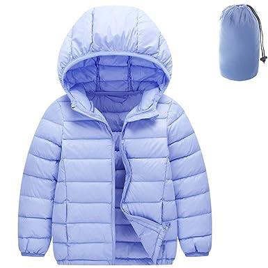 a63ac505a Shengwan Baby Boys Ultra Lightweight Down Jacket Girls Puffer Jacket ...