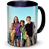 Generic Personalised Ceramic 325ml Coffee Mug (Black)