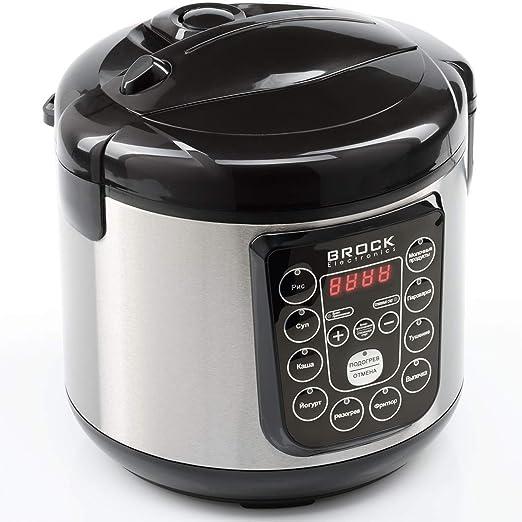 Brock Electronics Mc-1003 Robot de Cocina Multifunción, 500 W, 3 litros, 5 Decibeles, Acero Inoxidable, 10 Velocidades, Negro: Amazon.es: Hogar