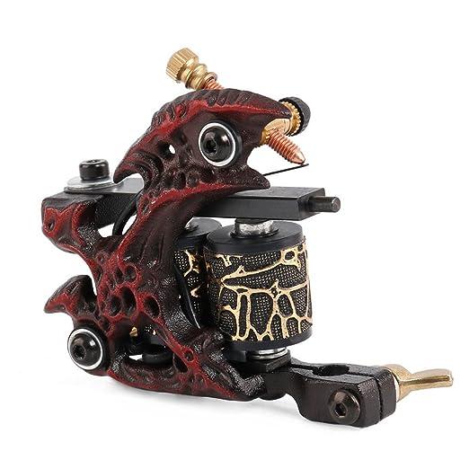 Rizador de pelo Alto Rendimiento Acero al Carbono Tatuaje Motor ...