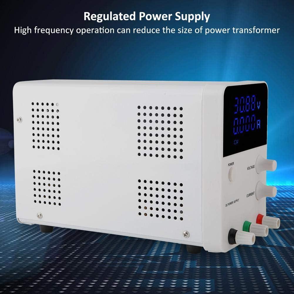 Prise europ/éenne Laboratoire dalimentation en courant continu GPS605D 0-30V//0-60V 0-5A//0-10A Pr/écision daffichage /à 3 chiffres 0.001A 0.01V R/égulateur dalimentation r/églable