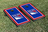 New York Rangers NHL Regulation Cornhole Game Set Border Version