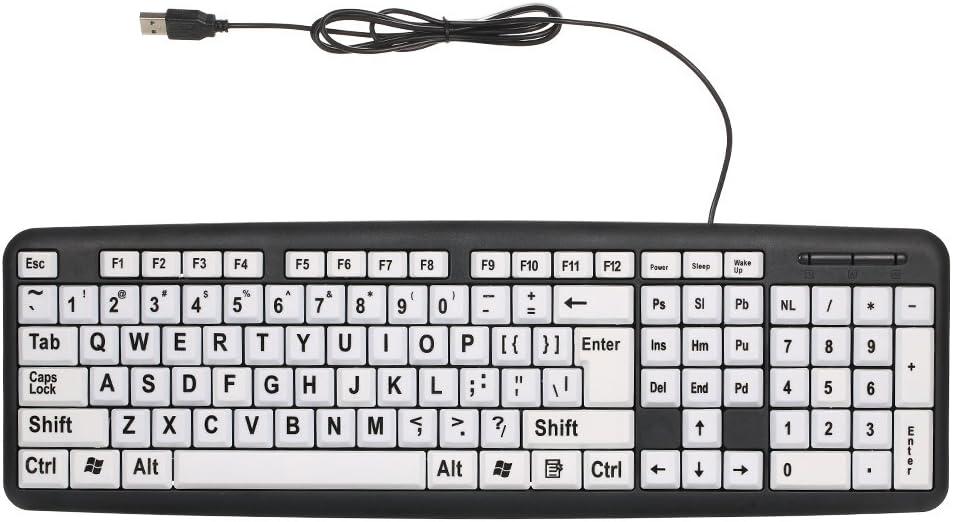 teclado teclas grandes regalos personas mayores