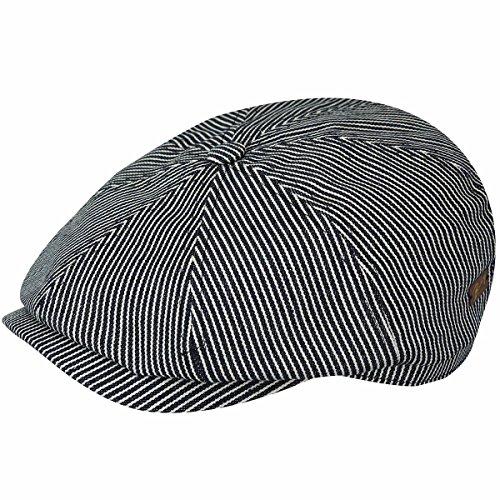 Bailey of Hollywood Men's Falc Hat, Denim Stripe, L ()