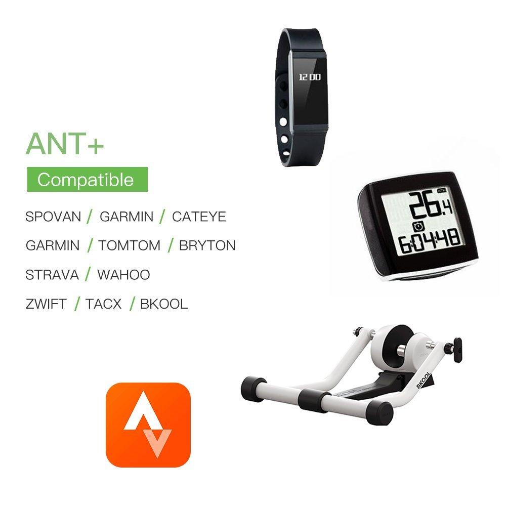 CYCPLUS Bike Speed Sensor and Cadence Sensor Wireless Bluetooth ANT+ for Garmin, Wahoo, Zwift, Sunnto, Tacx, Bkool, PerfPRO Studio, CycleOps, TrainerRoad Magnetless Waterproof 9.2g 300 Days Standby C3 by CYCPLUS (Image #5)