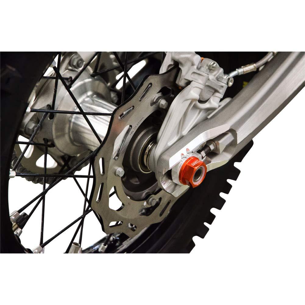 Nyloc Axle Nut M20 X 1.50 Orange for KTM 350 XCF-W 2012-2016