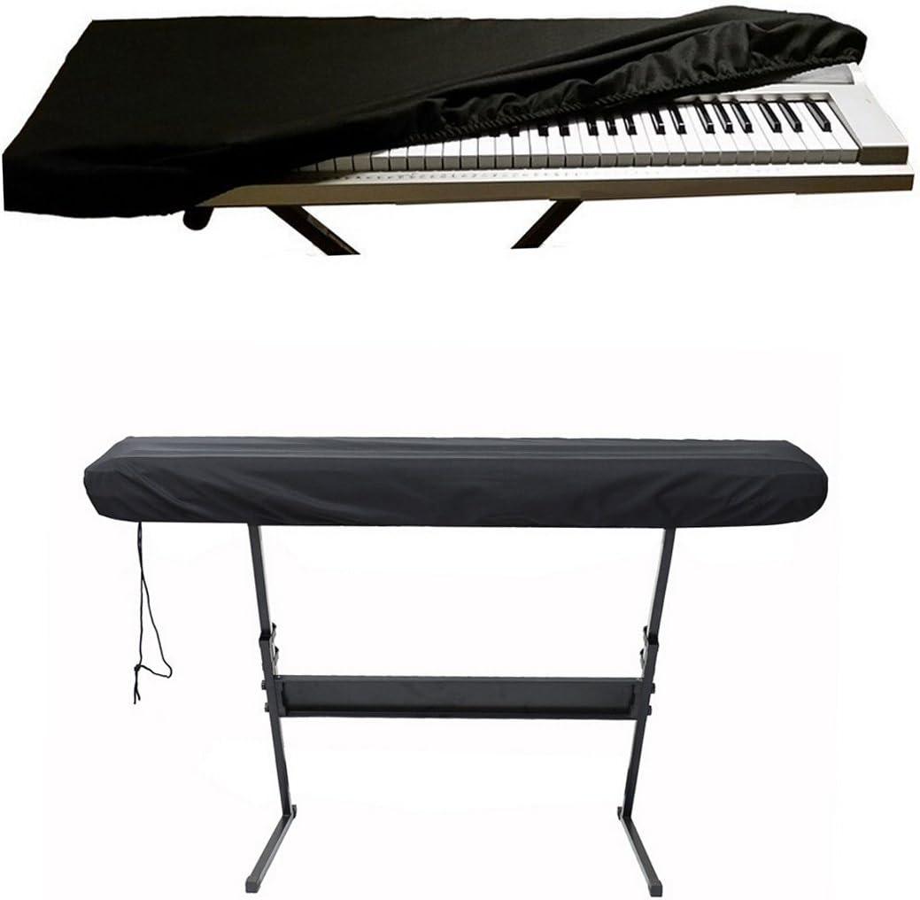 88//61 Klavier Abdeckung Piano Keyboard Key Cover Staubdicht Schutzhülle