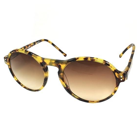 aed3feaca6 Image Unavailable. Image not available for. Colour  Elie Tahari Colors in Optics  Hamilton Retro Round Women s Sunglasses ...